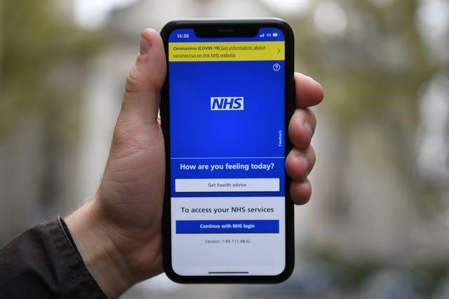 The NHS app will be used to determine ticket-holders' Covid status in the selected events
