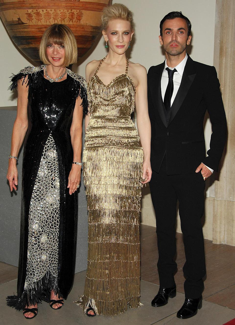 <p><strong>The theme: </strong>Poiret: King of Fashion </p> <p><strong>The co-chairs: </strong>Anna Wintour, Cate Blanchett and Nicolas Chesquière </p> <p><strong>Honorary chairs: </strong>François-Henri Pinault</p>