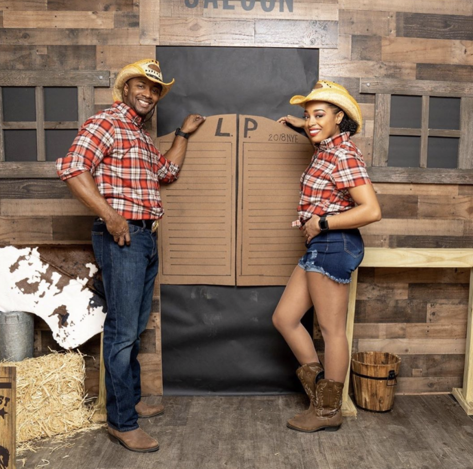 """<p>Giddy up! These DIY costumes can come right from your closet—coordinate with your partner in plaid shirts, denim pants, hats, and boots. </p><p><a class=""""link rapid-noclick-resp"""" href=""""https://www.amazon.com/Sonoma-Medium-Deadwood-Shapeable-Adjustable/dp/B00IKL0KOW/?tag=syn-yahoo-20&ascsubtag=%5Bartid%7C10072.g.27868801%5Bsrc%7Cyahoo-us"""" rel=""""nofollow noopener"""" target=""""_blank"""" data-ylk=""""slk:SHOP HATS"""">SHOP HATS</a><br></p>"""