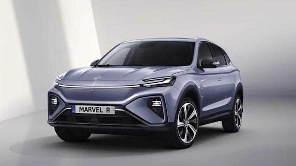 MG Marvel R Electric SUV, with over 400km range, revealed