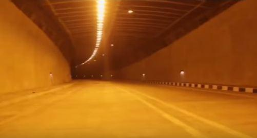 Chennai-Nashri road tunnel