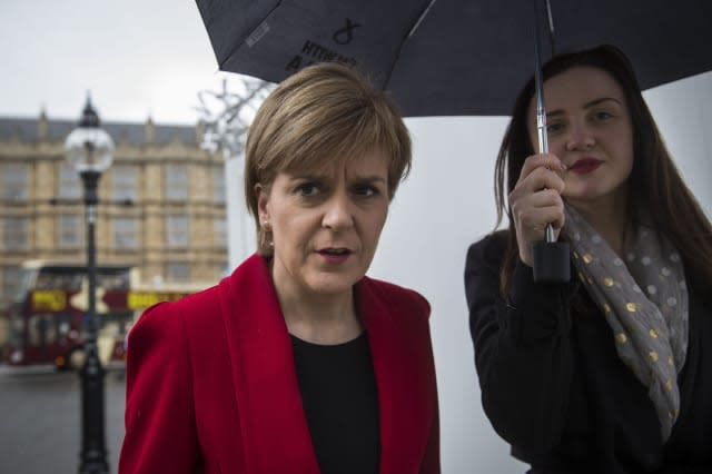 Nicola Sturgeon Visits Westminster