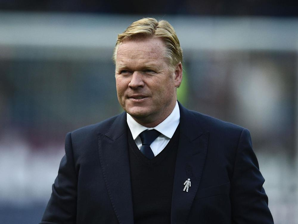 Koeman is refusing to give up on gatecrashing the top four (Getty)
