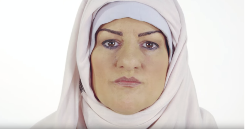 <strong>Channel 4 'transformed' Katie Freeman into a British Pakistani woman with make up and prosthetics </strong>