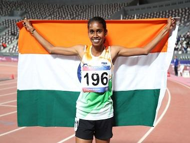 Asian champion PU Chitra clocks season's best time to win women's 1500m gold in Sweden; Jinson Johnson collects silver