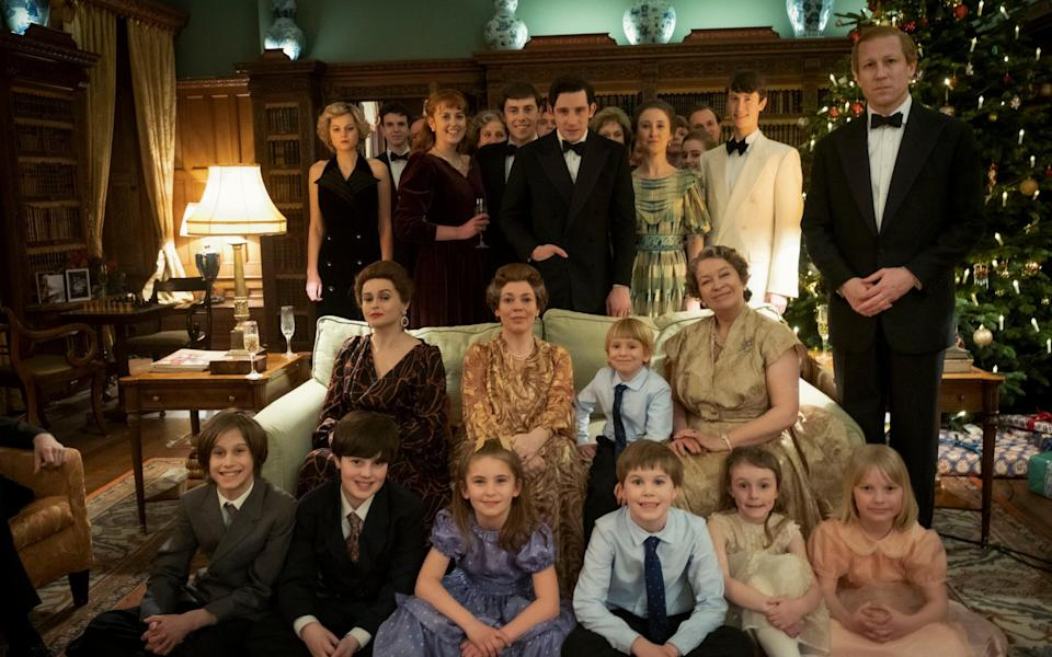 The Royal family at Christmas in The Crown's final episode - Netflix