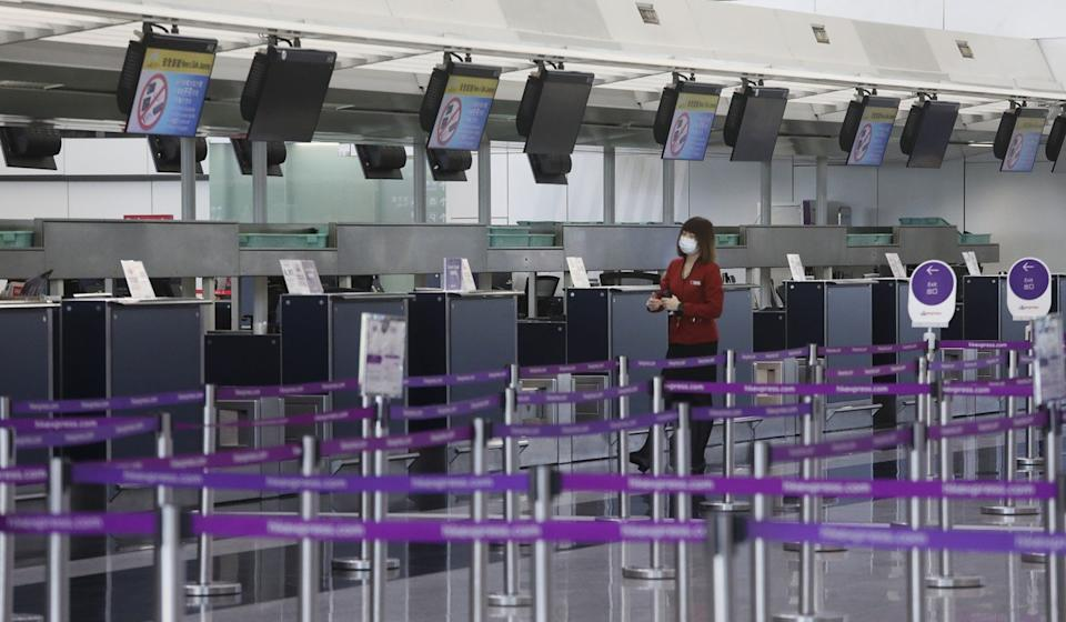 Both the airlines cite a significant drop in travel demand and sweeping restrictions in movement amid the coronavirus pandemic. Photo: Felix Wong