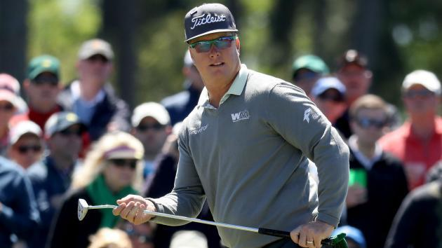 Masters 2017: Charley Hoffman has up-and-down Round 2, shares lead with Sergio Garcia