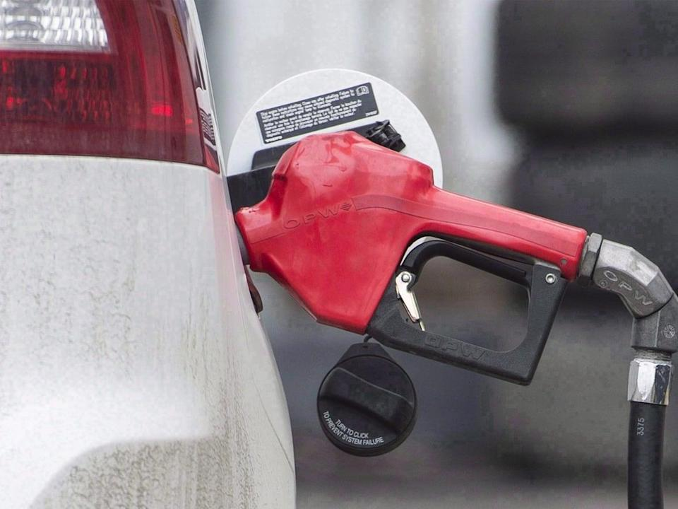 A petroleum analyst at gasbuddy.com says people in Saskatchewan can expect high gas prices for months. (Graham Hughes/The Canadian Press - image credit)