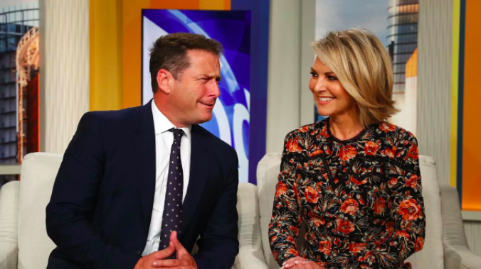 The pair have been hosting the Today show together since the start of the year. Source: Nine