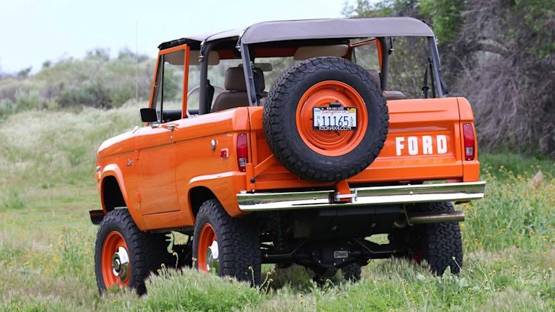 Icon Ford Bronco Old School