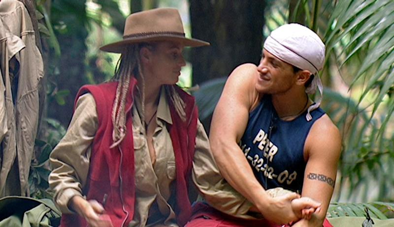 Katie secured her place as a permanent tabloid staple on the third series of 'I'm A Celebrity', where she met her future husband Peter Andre.