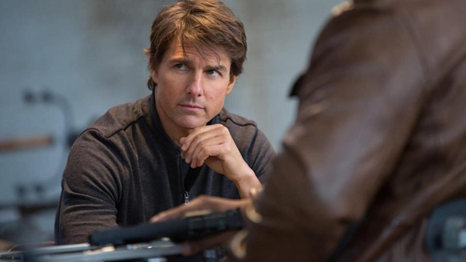 Tom Cruise in Mission Impossible: Rogue Nation