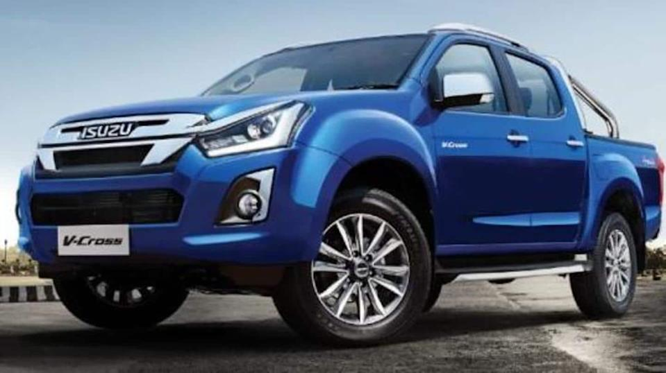 Interior details of BS6 Isuzu D-Max V-Cross leaked: Details here