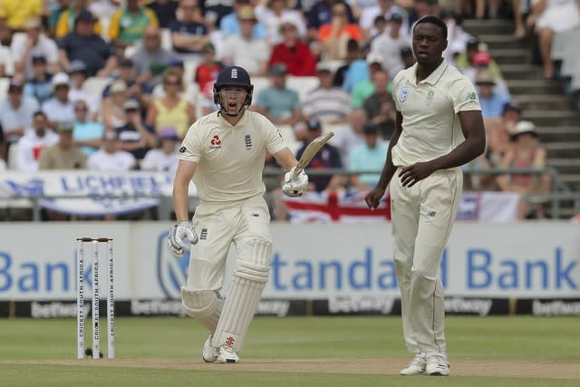 Zak Crawley has scored 30 runs in three Test innings (Halden Krog/AP)