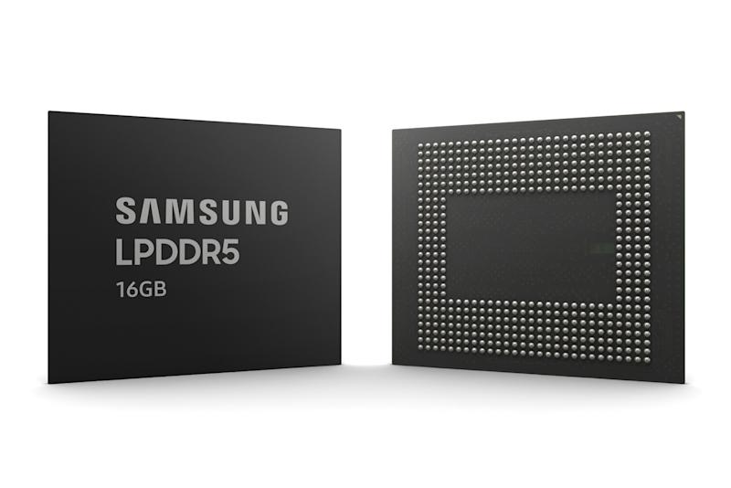 Samsung showcases new 16GB mobile RAM, built using EUV technology