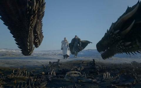 Dany and Jon join the dragons