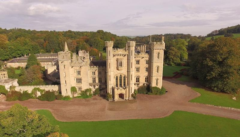 duns castle a scottish stay fit for a disney prince or
