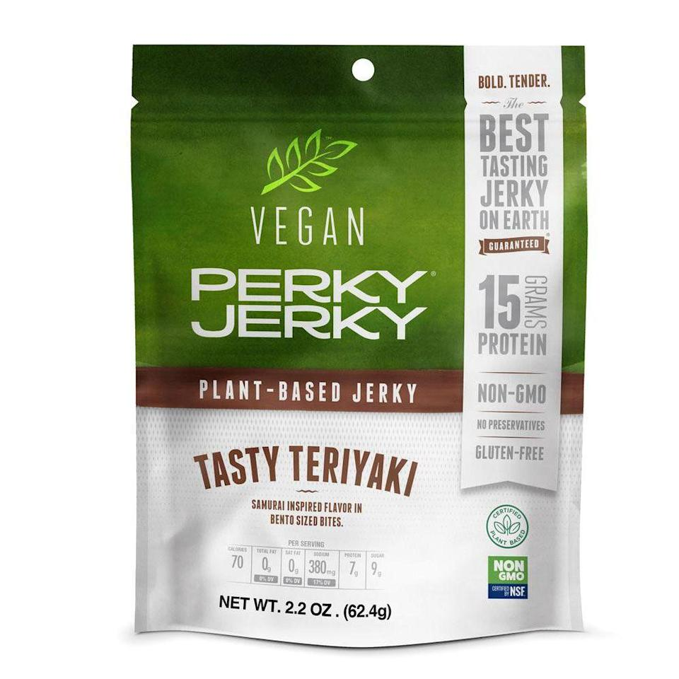 <p>So, beef jerky is still huge, but plant-based jerky started making quite the statement last year. Or really plant-based anything—think burgers, sausages, jackfruit snacks, and more—and it's still booming in 2019. Hello, Beyond Meat and Impossible Burger!</p>