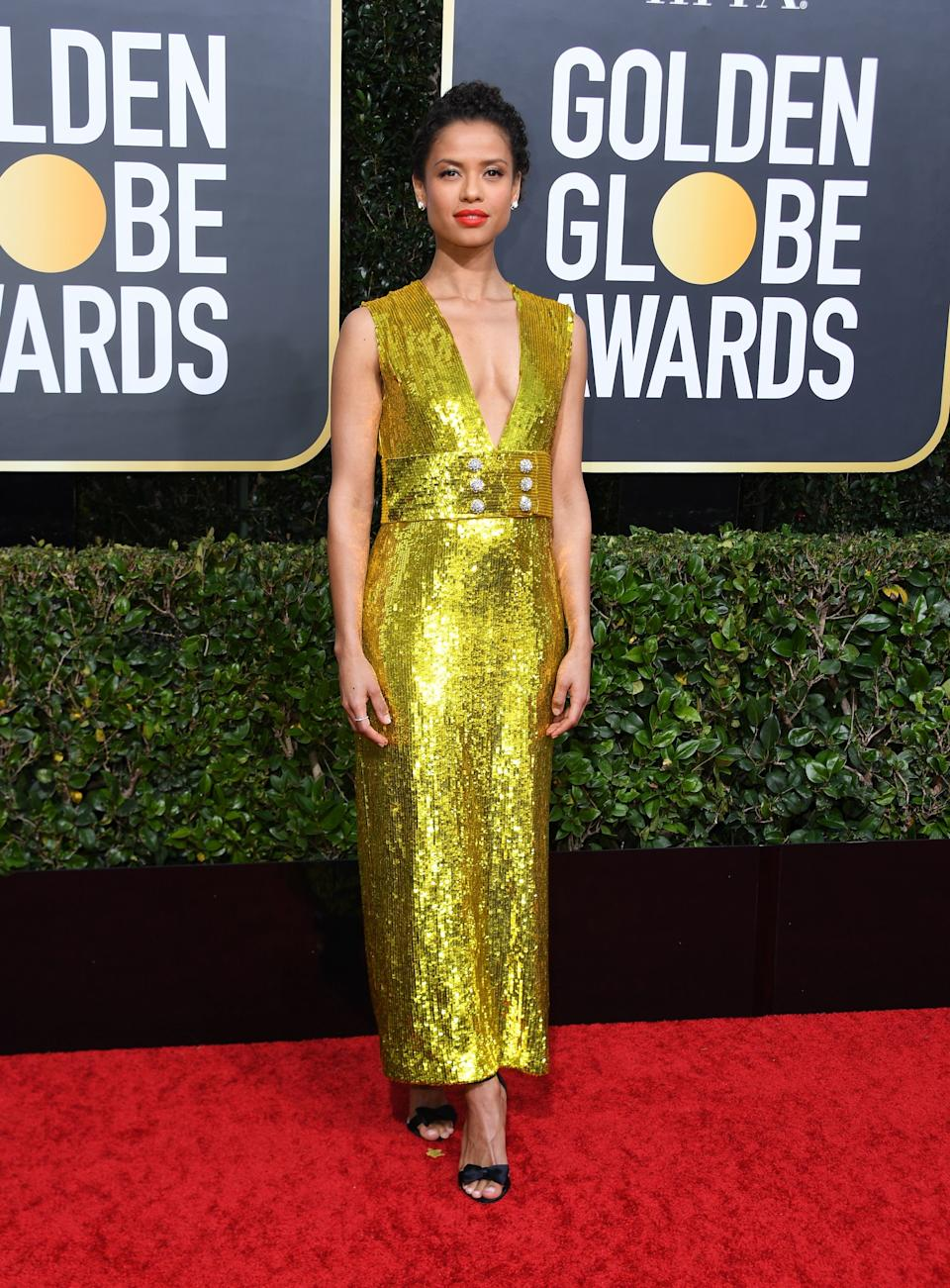 "<h1 class=""title"">Gugu Mbatha-Raw in Gucci</h1><cite class=""credit"">Photo: Getty Images</cite>"