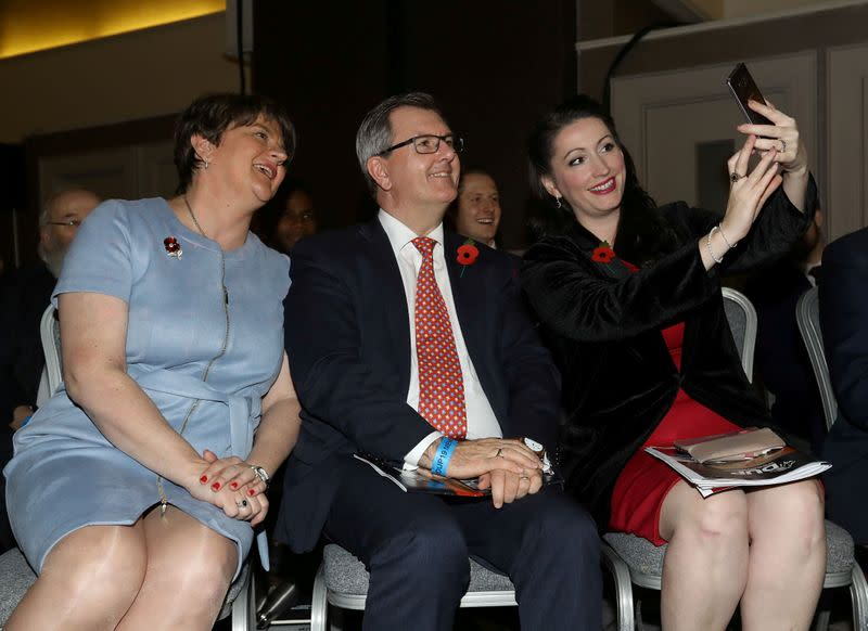 FILE PHOTO: Democratic Unionist Party (DUP) annual conference in Belfast