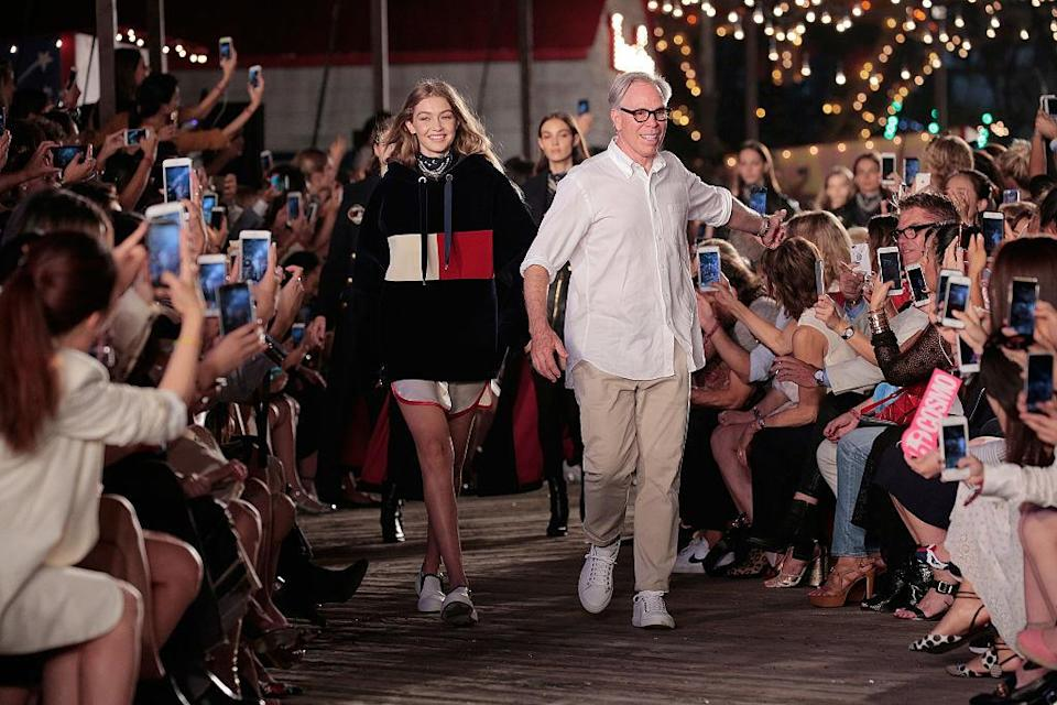Tommy Hilfiger will show for the first time in London this season [Photo: Getty]