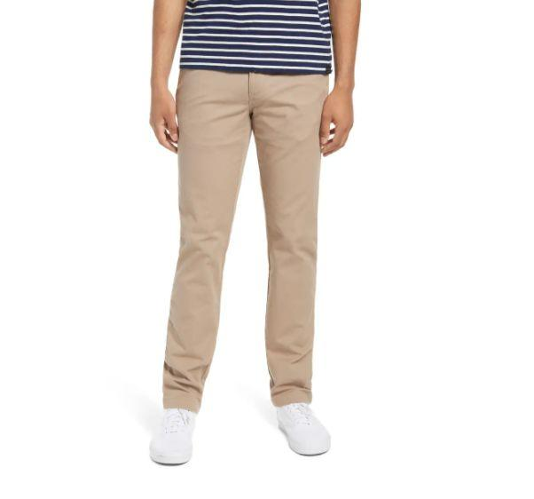 """These <a href=""""https://fave.co/3mazFhc"""" target=""""_blank"""" rel=""""noopener noreferrer"""">BP. Workwear Pants</a> are available in three colors and sizes 28 to 38. Find it <a href=""""https://fave.co/3mazFhc"""" target=""""_blank"""" rel=""""noopener noreferrer"""">on sale for $27 </a>(normally $39) at Nordstorm."""
