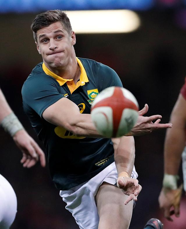 Rugby Union - Autumn Internationals - Wales vs South Africa - Principality Stadium, Cardiff, Britain - December 2, 2017 South Africa's Louis Schreuder in action Action Images via Reuters/Andrew Boyers