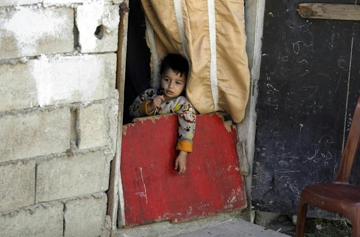 More than half of Tripoli's population live at or below the poverty line, the United Nations says, and more than a quarter live in extreme poverty (AFP Photo/JOSEPH EID)