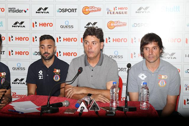 The Spanish coach was happy that his team could salvage a point from the tough away fixture against Punjab FC…