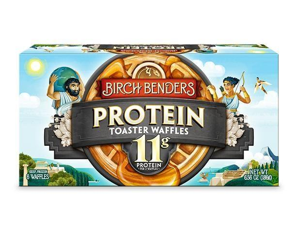 <p>Two of these <span>Birch Benders Protein Toaster Waffles</span> ($5 for six waffles) contain 11 grams of protein, a surefire way to give your breakfast some staying power. These waffles also take very little time to heat up, and they're super tasty on their own - no syrup or butter necessary. Pro tip: make a waffle sandwich using two toaster waffles, natural peanut butter, and fresh berries for a yummy breakfast on busy mornings.</p>