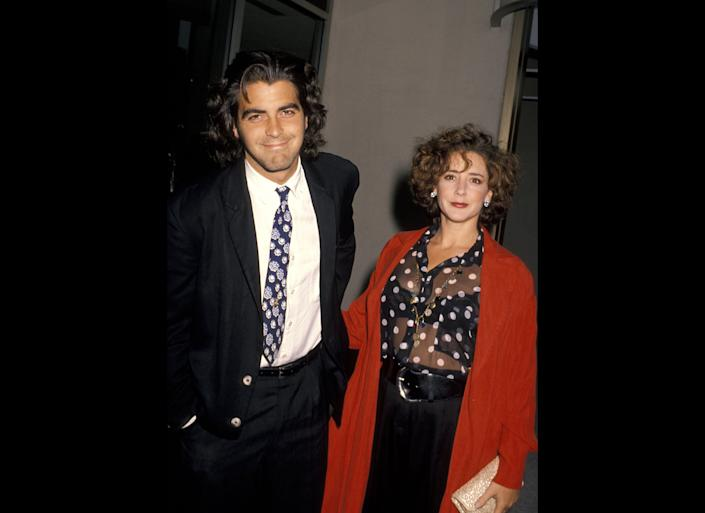 "George Clooney may be the ultimate bachelor, but he did get married, just once, to actress Talia Balsam. (Balsam is now married to John Slattery of ""Mad Men""). <br><br>""I was married, so I gave it a shot,""<a href=""http://www.cbsnews.com/8301-31749_162-20029324-10391698.html"" rel=""nofollow noopener"" target=""_blank"" data-ylk=""slk:Clooney told Piers Morgan"" class=""link rapid-noclick-resp""> Clooney told Piers Morgan</a> in 2011. ""I've proven how good I was at it, and I just...I'm allowed one."""