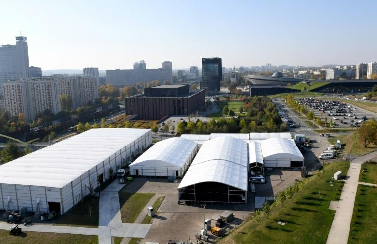 The COP UN climate summit takes place in a former coal mining area in Katowice, Poland