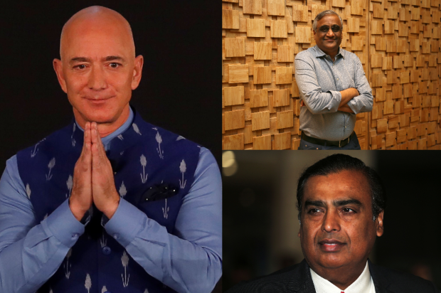 Why are two of the world's wealthiest men at loggerheads over an Indian retail company?