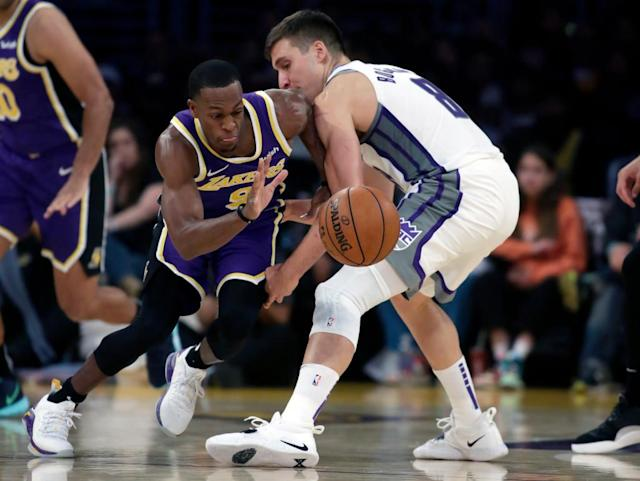 Purple & Bold: Rajon Rondo can bring speed with his 'swag'