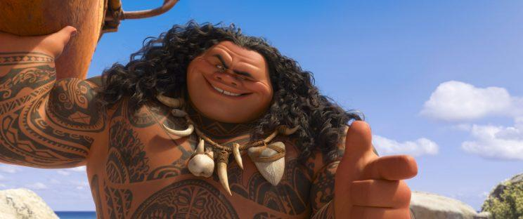 Johnson's character, Maui (Photo: Walt Disney Studios Motion Pictures / courtesy Everett Collection)