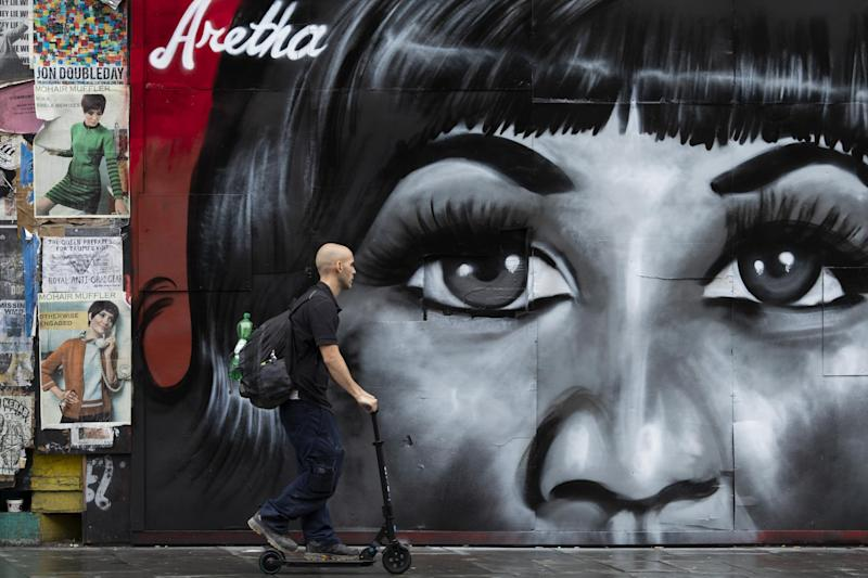 Tribute to singer Aretha Franklin (Getty Images)