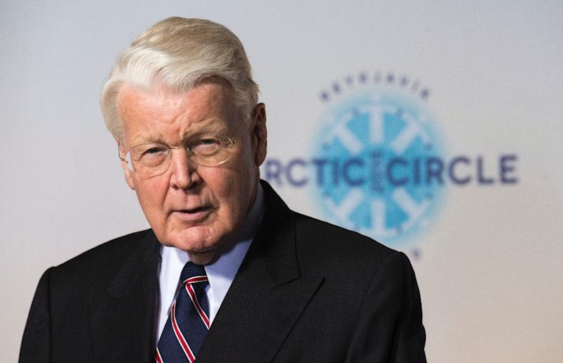 Iceland's President Olafur Ragnar Grimsson, pictured in October, has said he will step down after two decades in power (AFP Photo/Halldor Kolbeins)