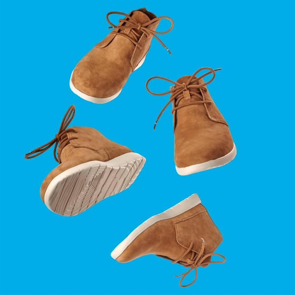 The Original Stretchlace looks like any other shoelace, but allows wearers to slip their shoes on and off without retying the laces.