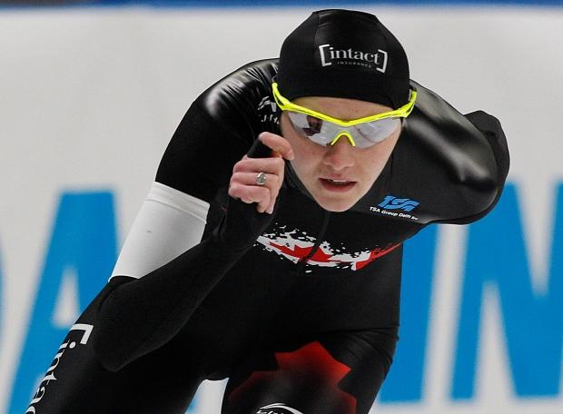 Canada's Weidemann secures 5,000m speed skating silver