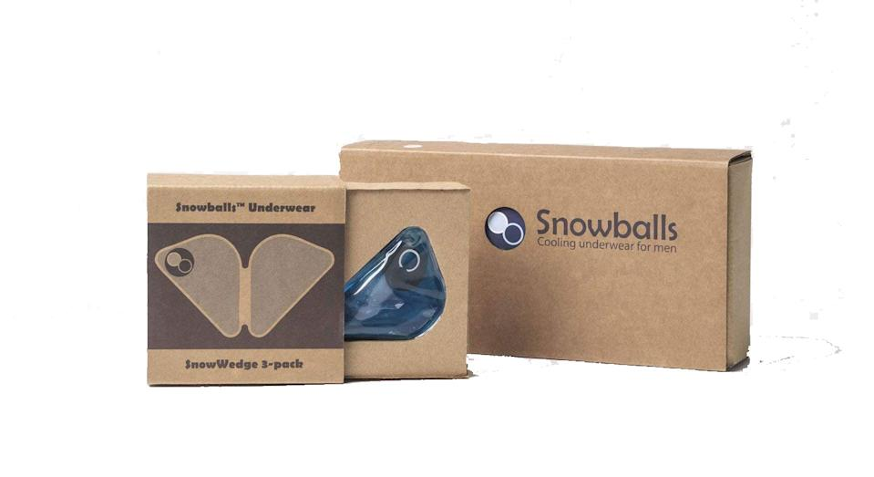 The wedges come in a pack of two and cost £59. [Picture via Snowballs]