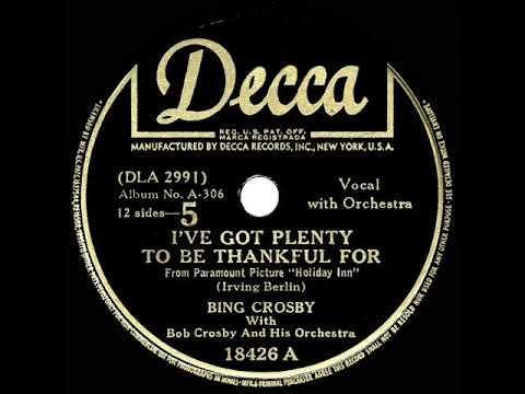 """<p>This swinging tune from the Irving Berlin songbook is a great reminder to appreciate what you have rather than focusing on what you don't. Plus it's got the classic, timeless feel of any great holiday song.</p><p><a href=""""https://www.youtube.com/watch?v=dr4I6mIAkSw"""" rel=""""nofollow noopener"""" target=""""_blank"""" data-ylk=""""slk:See the original post on Youtube"""" class=""""link rapid-noclick-resp"""">See the original post on Youtube</a></p>"""