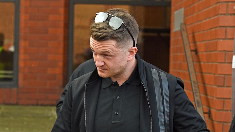 Police publish pictures of 10 Tommy Robinson supporters suspected of disorder