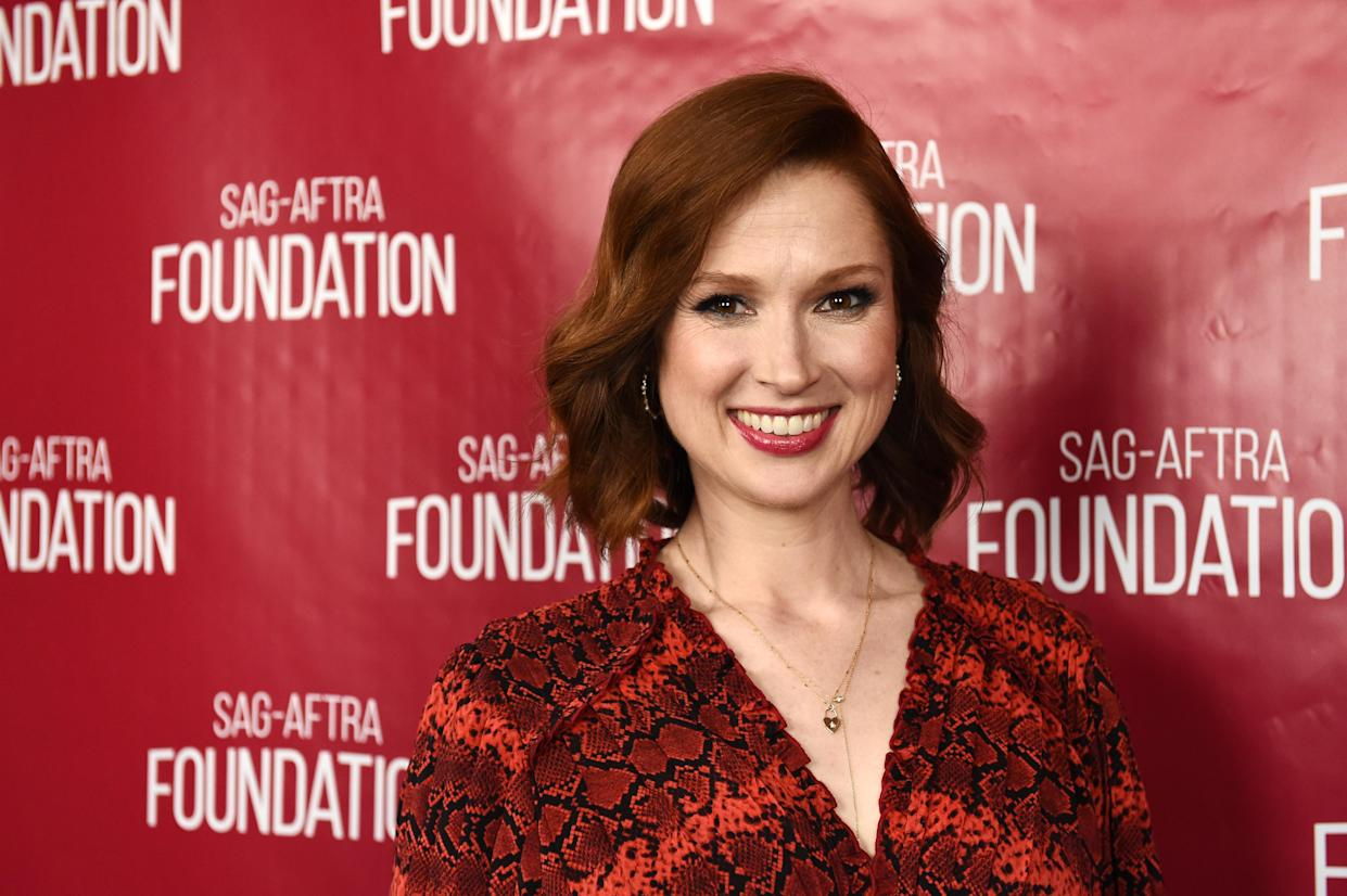 LOS ANGELES, CALIFORNIA - MAY 29: Actress Ellie Kemper attends the SAG-AFTRA Foundation Conversations with