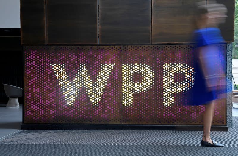 Ad group WPP says COVID-19 has speeded up strategy shift