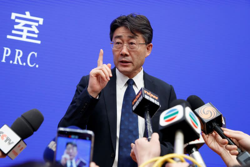 China's top disease control official accepts criticism of coronavirus response