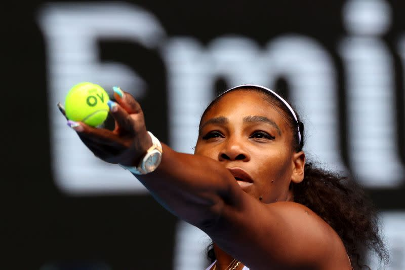 Serena, NFL players to compete in charity virtual tennis event