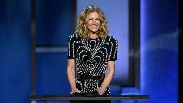 PHOTO: Julia Roberts speaks onstage during the 47th AFI Life Achievement Award honoring Denzel Washington at Dolby Theatre, June 6, 2019, in Hollywood, Calif. (Kevin Winter/Getty Images, FILE)