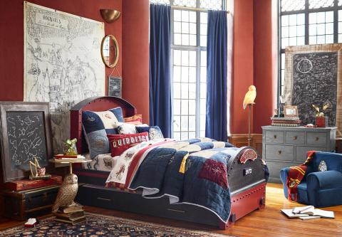 HARRY POTTER INSPIRED HOME DÉCOR COLLECTION BY POTTERY BARN BRANDS AND WARNER BROS. CONSUMER PRODUCTS DEBUTS TODAY