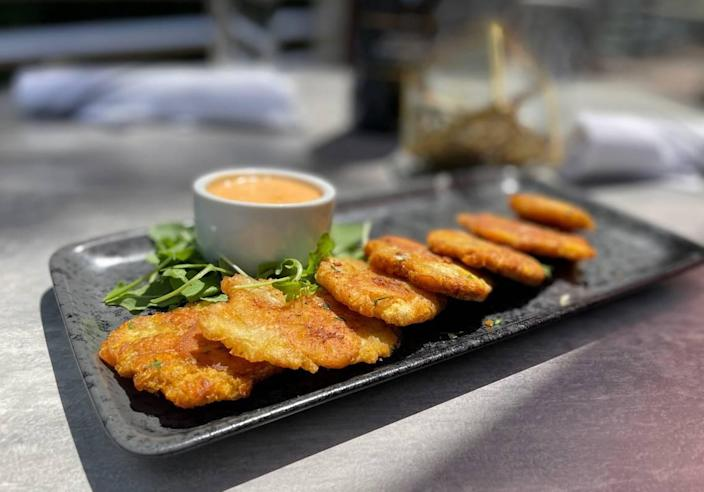 Try your hand at Chef Ken Aponte's tostones.